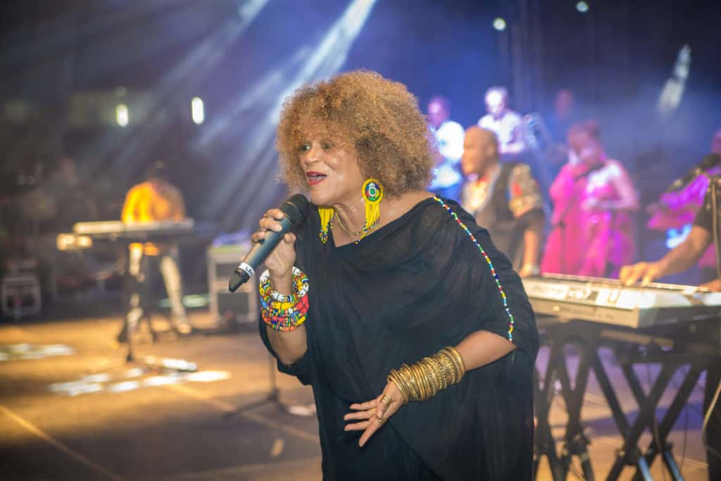 Jocelyne Béroard au Festival World Creole Music